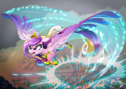 Princess Cadence sonic love boom by Dormin-Kanna