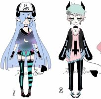 pastel goth adoptable CLOSED by AS-Adoptables