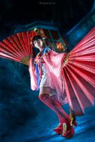 Dynasty Warriors 3 - Da Qiao by KiraHokuten