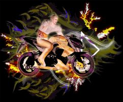 Man on Motor by andry2fast