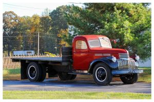 Nice Chevrolet Flatbed Truck by TheMan268