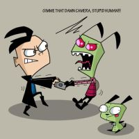 Invader Zim by Cookie-Lovey