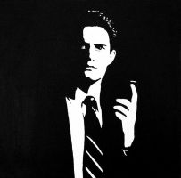 Agent Cooper by blissard