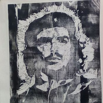 Che on wood by urbantrixsta