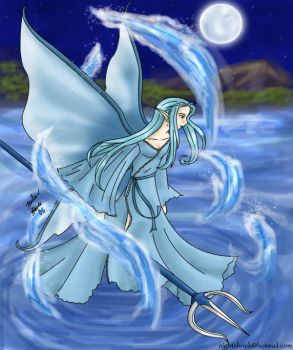 Water Faerie by NeuroticCrow