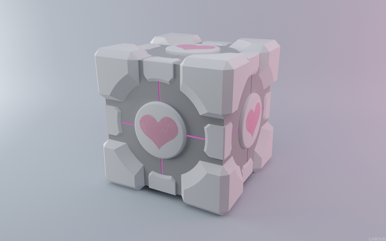 Companion Cube by linkitch