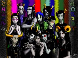 Homestuck Trolls by Jagoria