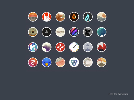 Icons Geo by lingkira
