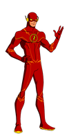 DC:New Earth The Flash Animated by kyomusha