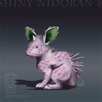 Type Collab: Shiny Nidoran F