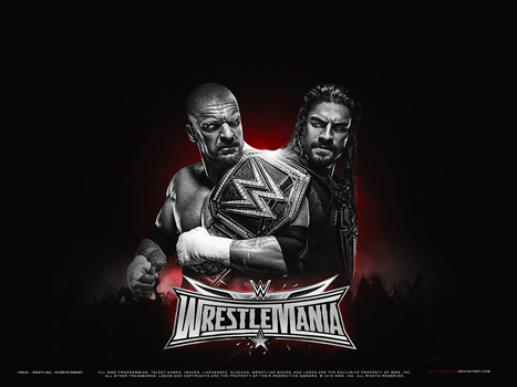 WWE Wrestlemania 32 Wallpaper by Mackalbrook