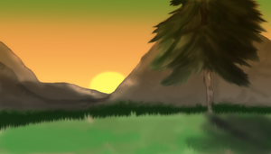 Mountains Sunset by JanniFTW