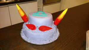 Terezi birthday cake by Psycho-chanka