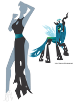 Queen Chrysalis 1 Wip by CeshionCo
