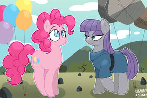 Sister Balloons by greennpc