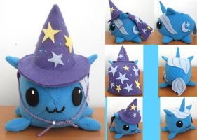 The Great and Powerful Trixie Ponyblob Plushie by whiteraven1717