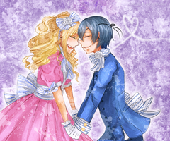 This is the present us - Ciel x Elizabeth by cielking