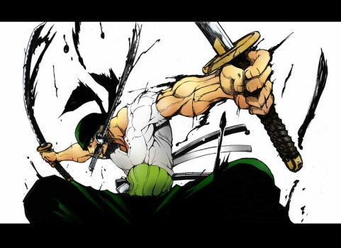 one piece roronoa zoro by Tanner779