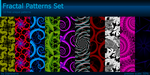 Fractal Patterns Set by Diaminerre