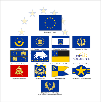 Flags of the European Union by firelord-zuko
