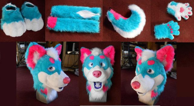 Cotton Candy Husky by Plus3Defense