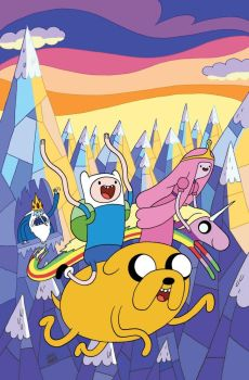 Adventure Time Cover Issue 2 by ReedGunther