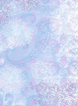 Floric Purple Paisley by FredtheCow-Stock