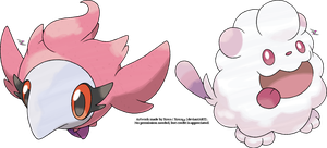 Spritzee and Swirlix