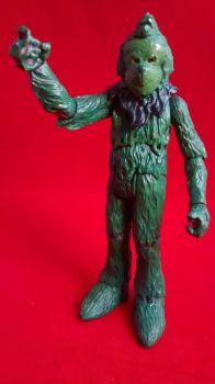 The Grinch figure by ArtKing3000