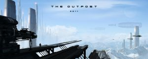 The Outpost by JamesLedgerConcepts