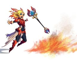 Hellfire Lux by irahi