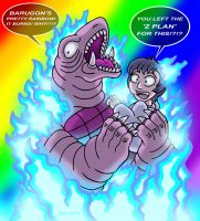 Rainbow Beams Are NOT Pleasant Things by Enshohma