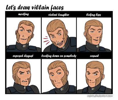Agent Kallus - villain faces by rayn44