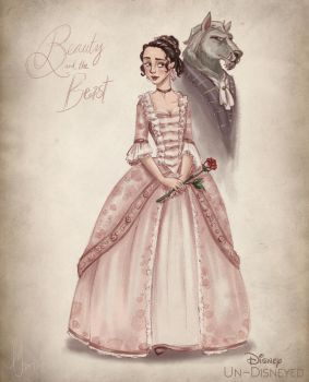 Disney Un-Disneyed: Beauty and the Beast (P) by kuabci