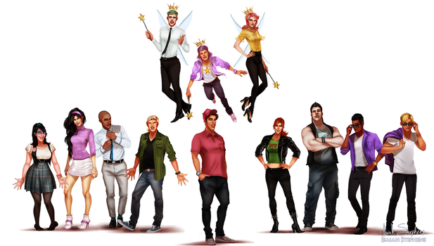 All Grown Up: Fairly Odd Parents by IsaiahStephens