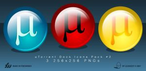 uTorrent Dock Icons Pack 2 by lilshizzy
