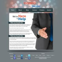 Simple business site by SolidSilver