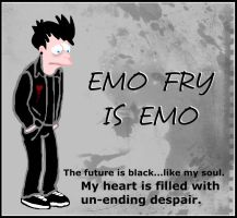 EMO FRY IS EMO by Amkii