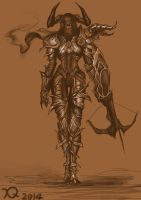 Just draw a demon hunter~ by xq77218371