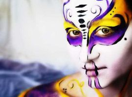 body work by mpfacepainting