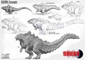 Gojira Concepts by LDN-RDNT