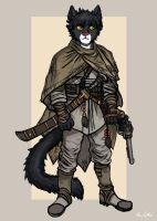 Khajiit Officer by TheLivingShadow
