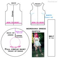 Morgiana Cosplay Pattern Tutorial [Magi] by firecloak