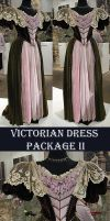 Victorian Dress Package II by Avestra-Stock
