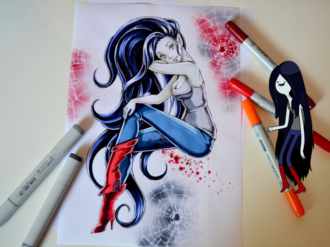 Marceline - Adventure Time by Lighane