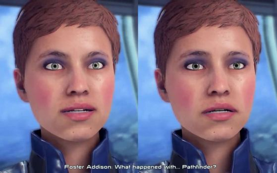 Face of Foster Addison (Mass Effect: Andromeda ) by PublicCenzor
