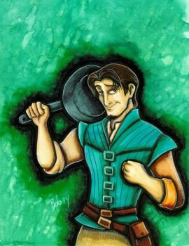 Flynn Rider- District 11 by jimbobpetemoss