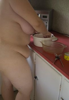 Putting the chicken in by GoddessWillendorf