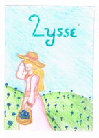 Lysse ATC Trade by AmazingGlideh