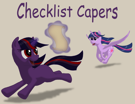 Checklist Capers Cover by NebulaStar985